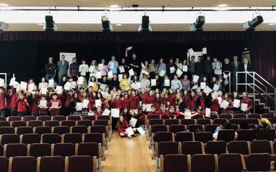 CAMBRIDGE CERTIFICATE AWARD CEREMONY 2018