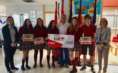 Alumnos de 4º de ESO, primer premio del programa Flip&Do de Zaragoza Activa