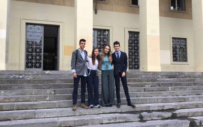 El Colegio Británico, ganador del X Torneo de debate de la Universidad de Zaragoza