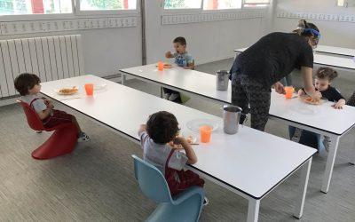Reabrimos el Colegio para los alumnos de infantil