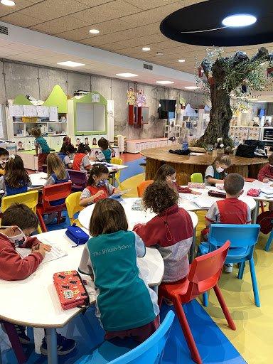 El maravilloso viaje de infantil a primaria en el Británico