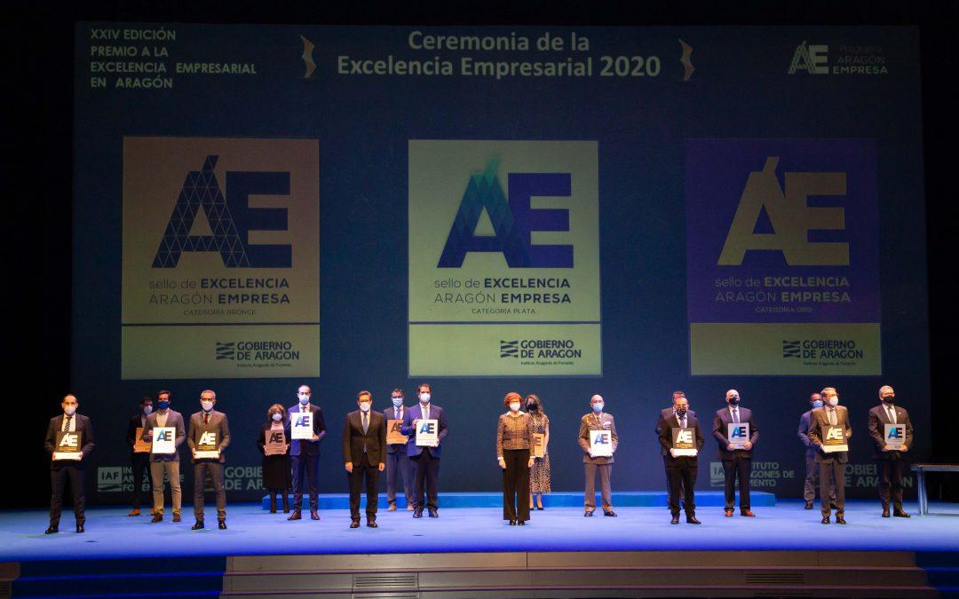 El Colegio Británico recibe el Sello de Oro de Excelencia del Gobierno de Aragón