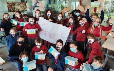 Los alumnos de 6º del Británico, seleccionados para el RetoTech de Fundación Endesa