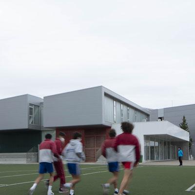 alumnos instalaciones deportivas