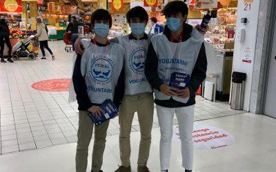 Voluntariado de los alumnos de Bachillerato Internacional en el Banco de alimentos