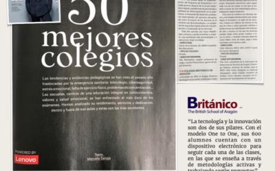 El Colegio Británico elegido mejor colegio privado en Aragón según la revista Forbes